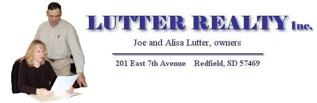 Joe & Alisa, Lutter Realty - houses for sale in Redfield South Dakota